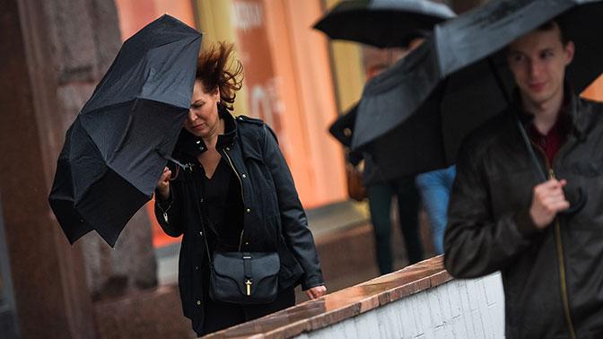 «Желтый» уровень погодной опасности объявлен в Москве из-за ветра