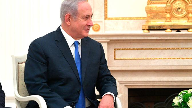 Нетаньяху сообщил, что договорился с Путиным о скорой встрече военных делегаций РФ и Израиля