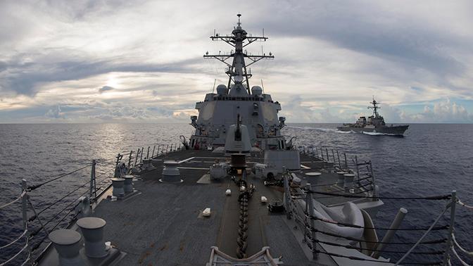 Китай потребовал от США прекратить провокации в Южно-Китайском море