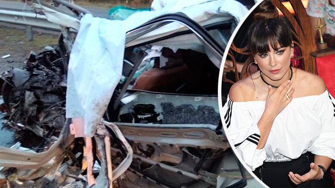 В Татарстане лоб в лоб столкнулись иномарка и грузовик Ани Лорак