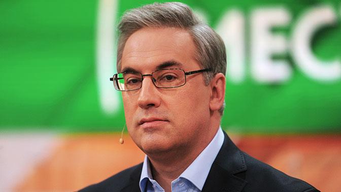 Ведущий НТВ со скандалом выгнал из студии гостя за оскорбление его матери