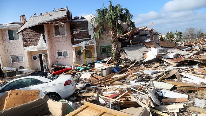 Ураган «Майкл» сравнили с «матерью всех бомб»