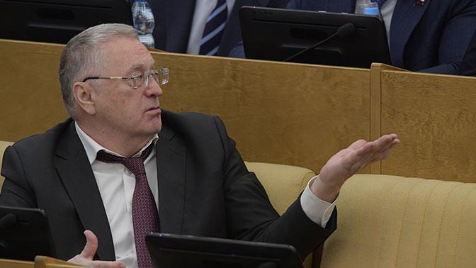 Жириновского обсмеяли после его оповещении  осуществовании уРФ С-700