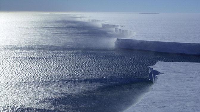 В Сети опубликовано видео с жутким гулом в антарктических льдах