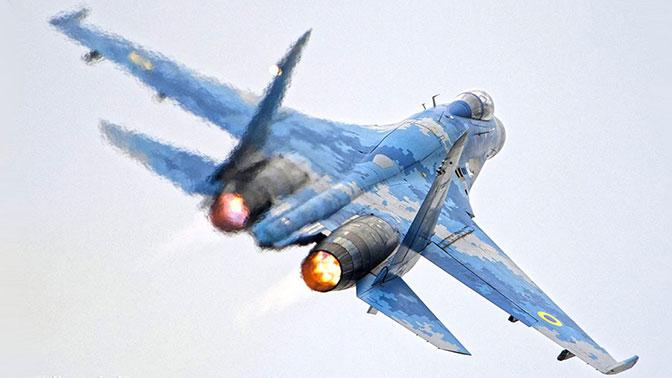 Военная прокуратура Украины назвала основную версию крушения Су-27