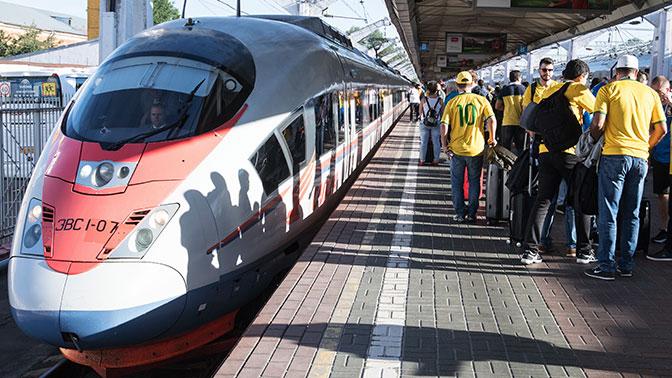 Иностранным болельщикам ЧМ-2018 понравились двухэтажные поезда и вагоны-рестораны