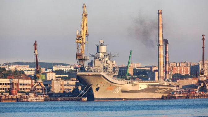В ОСК оценили ущерб от ЧП с «Адмиралом Кузнецовым»