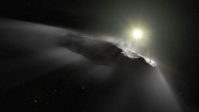 «След пришельцев»: ученые заподозрили межзвездный астероид в инопланетном происхождении