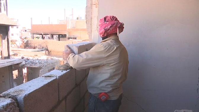 В Сирии за неделю почти в полторы сотни жилых домов заселились мирные жители