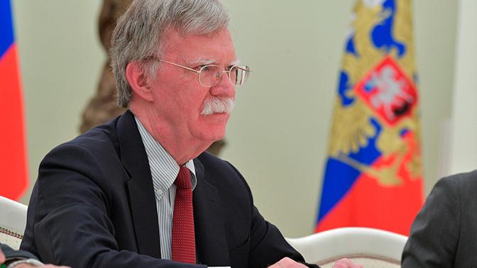 Болтон уверил  внежелании США размещать вевропейских странах  запрещенные ракеты