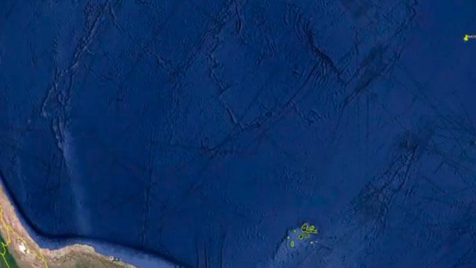 От Антарктики до Австралии: исследователь нашел на Google Earth систему загадочных линий
