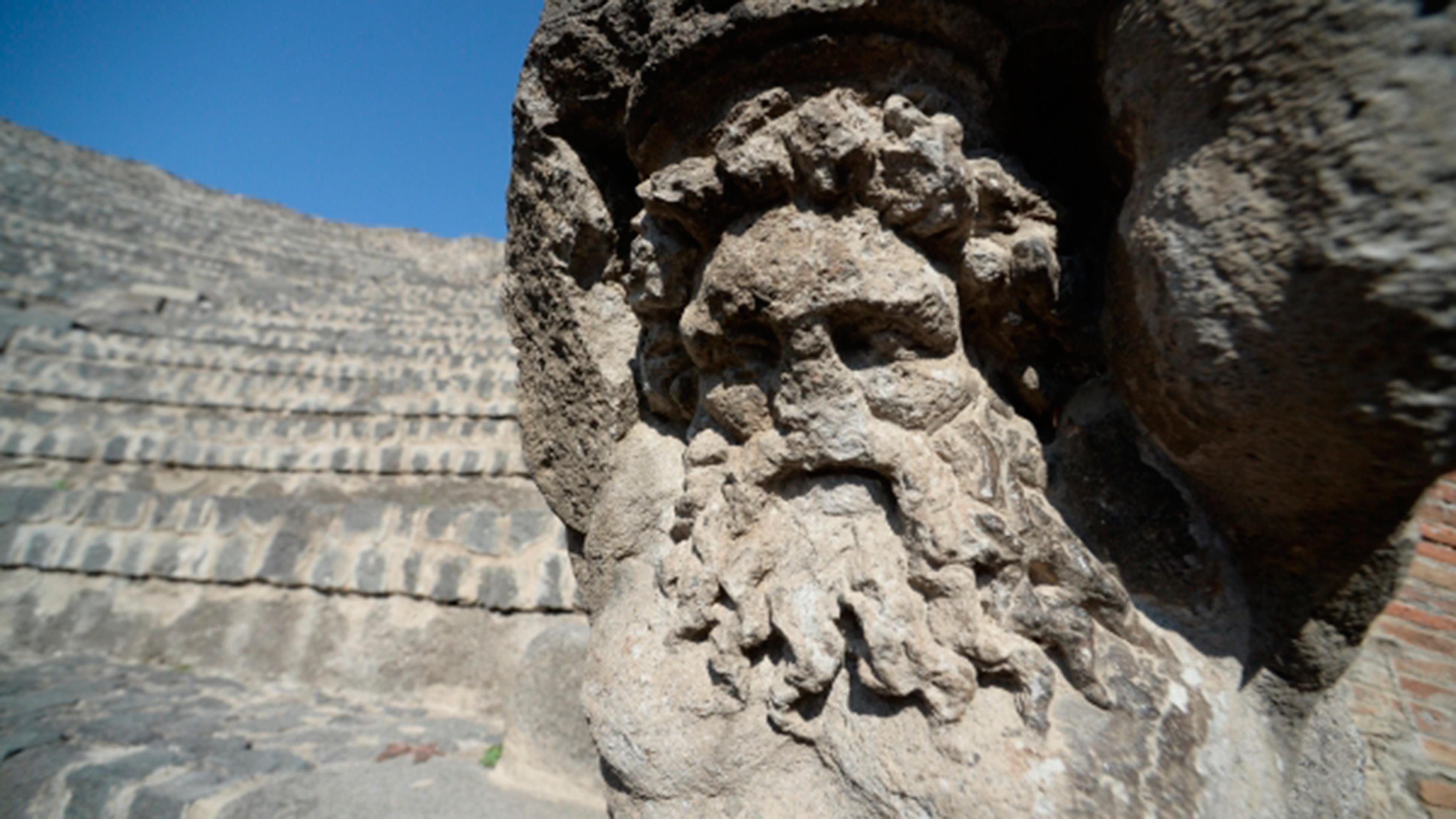 На руинах Помпеев нашли древнюю эротическую фреску