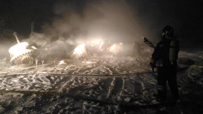 Утечка химвещества произошла на бывшем заводе под Иркутском