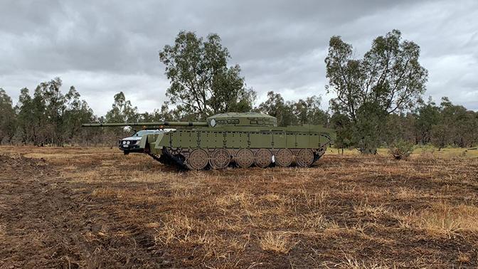 Российские танки Т-80 и БМП-3 заметили в австралийской армии