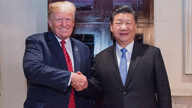 Трамп согласился не поднимать пошлины для Китая