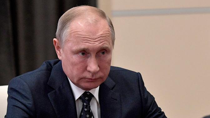 Кремль отменил обращение Владимира Путина кФедеральному собранию