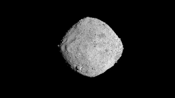 Угрожающий Земле астероид показали на видео
