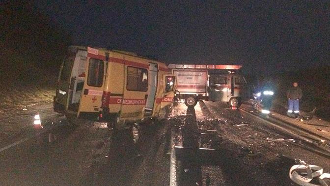 В Краснодарском крае шесть человек погибли в результате ДТП со скорой