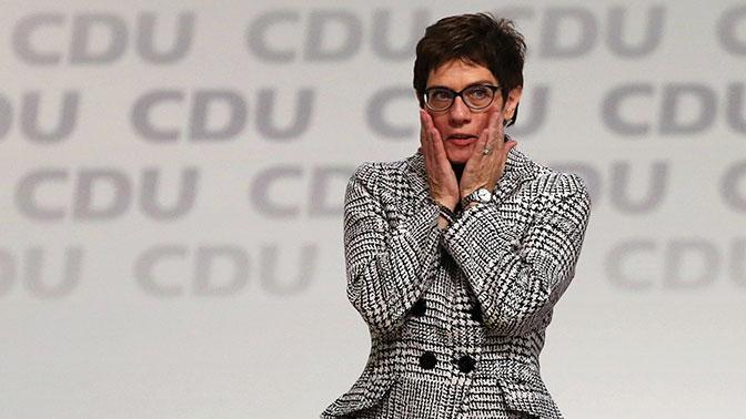 Выбран преемник Меркель на посту председателя ХДС