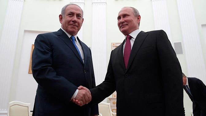 Путин иНетаньяху обсудили военное взаимодействие вСирии