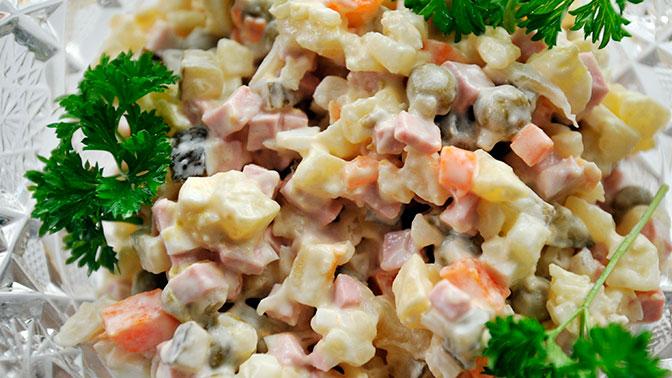 Названы регионы с самым дорогим и дешевым салатом «Оливье»
