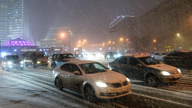В Москве ожидаются девятибалльные пробки