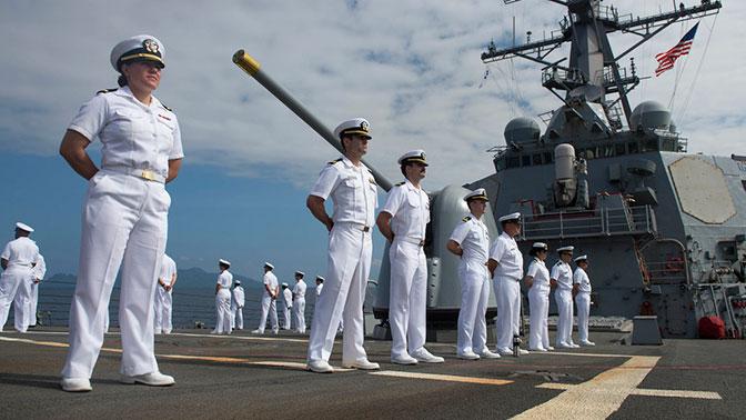 В США заявили о нехватке моряков в случае военной угрозы