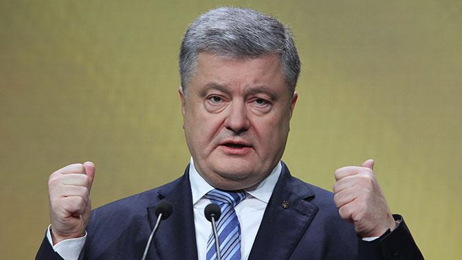 Порошенко рассказал, когда закончится военное положение на Украине