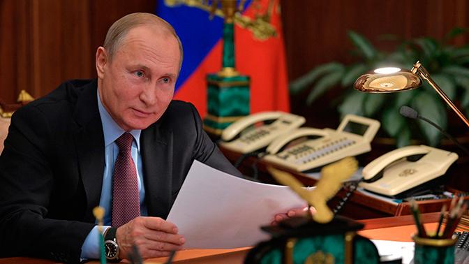 Путин впервые присвоил звания «Заслуженный журналист РФ»