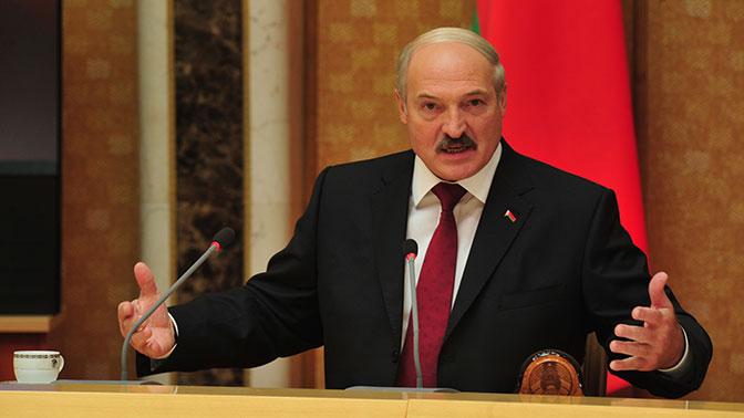 Лукашенко поздравил граждан Белоруссии с Новым годом