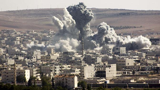 СМИ сообщили о гибели 11 человек в результате авиаудара коалиции по провинции Дейр эз-Зор