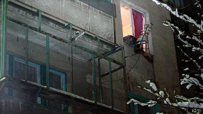 Взрыв произошел в многоэтажном доме в Мариуполе