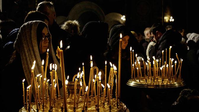 На рождественскую службу в храмы УПЦ пришли миллионы верующих