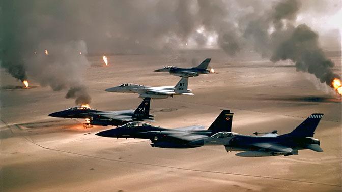Помпео заявил, что США продолжат авиаудары по террористам на Ближнем Востоке