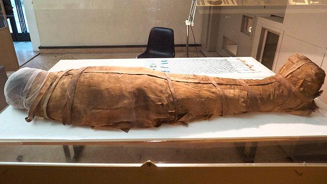 Раскрыта тайна египетской мумии