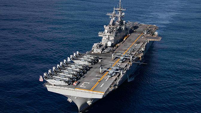 WSJ: США направили десантный корабль с морпехами в сторону Сирии