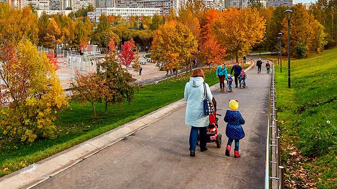 Собянин пообещал увеличить количество парков в «Новой Москве» до 90