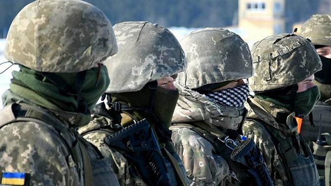 Рота ВСУ отказалась от участия в боевых действиях в Донбассе