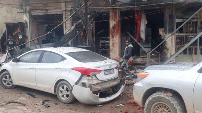 Число жертв взрыва в сирийском Манбидже увеличилось до 16 человек