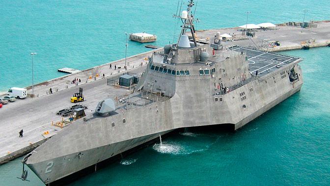 Новые корабли ВМС США прибрежной зоны назвали «плавучей кучей мусора»