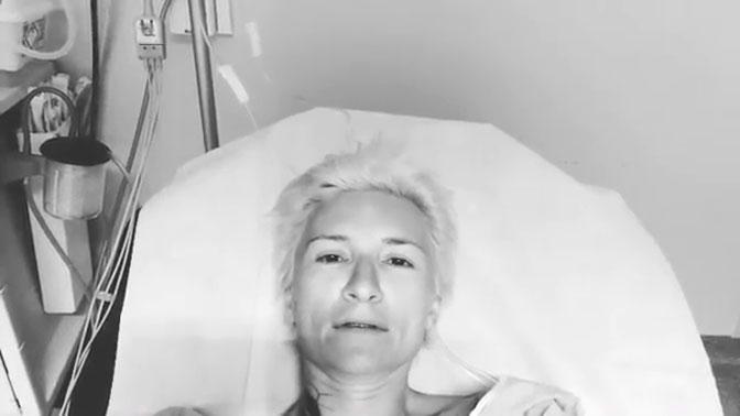 Арбенина обратилась к фанатам из французской больницы после сердечного приступа