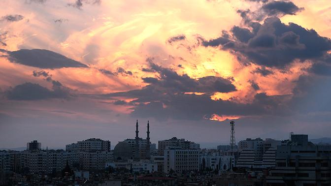 Взрыв прогремел в пригороде Дамаска