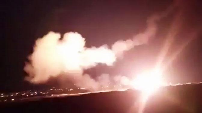 ПВО Сирии отразили атаку Израиля
