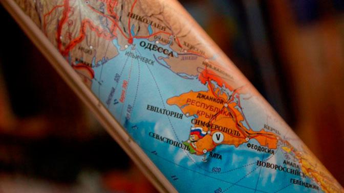 В РФ могут ввести наказание за неправильное указание Крыма накартах
