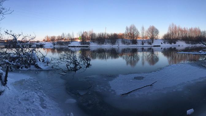 Двое детей провалились под лед в Пензенской области
