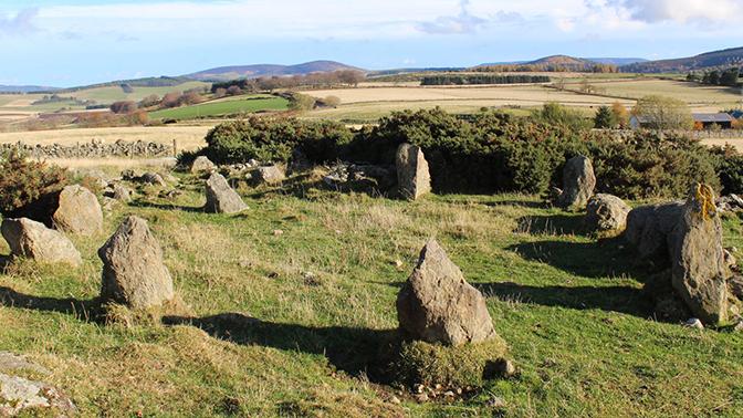 Древний шотландский монумент оказался подделкой