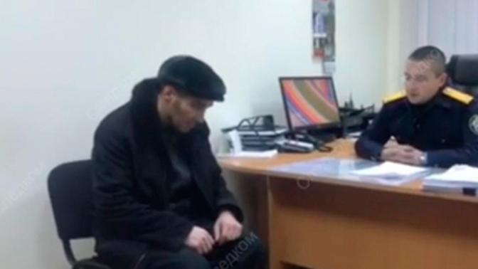 СК опубликовал полное видео допроса подозреваемого в попытке угона рейса Сургут-Москва