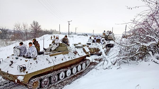 ОБСЕ зафиксировала бронетехнику ВСУ вблизи линии соприкосновения в Донбассе
