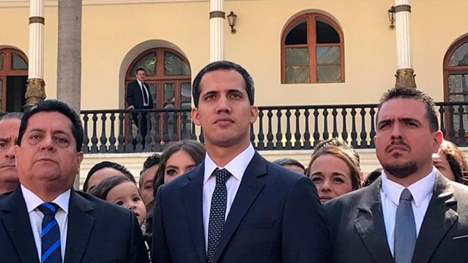 Генсек ОАГ признал Хуана Гуайдо президентом Венесуэлы