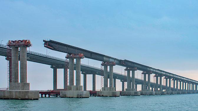 По Крымскому мосту запустят пригородные поезда